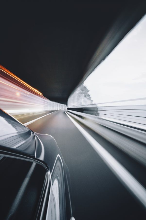 time lapse photography of car